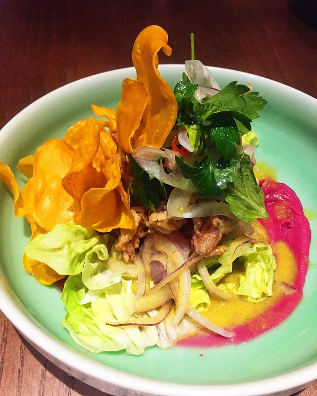 Meet Tono, one of the four ceviches on the menu.