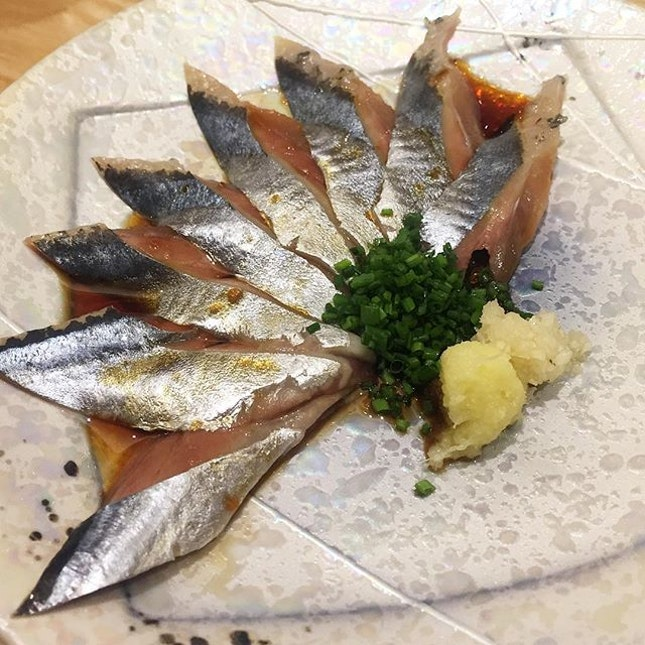 Sanma or pacific saury.