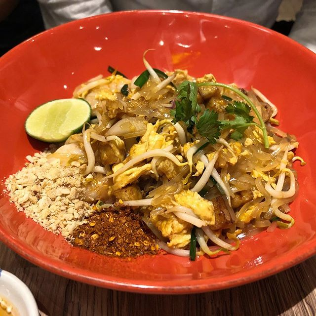 I stole a bite of this Pad Thai and had food envy.