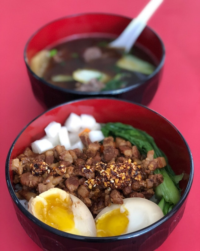 Amazing Taiwanese Rice and Beef Noodles Soup
