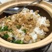 Signature pork lard rice!