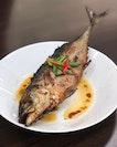 Ikan cincaru sumbat sambal.