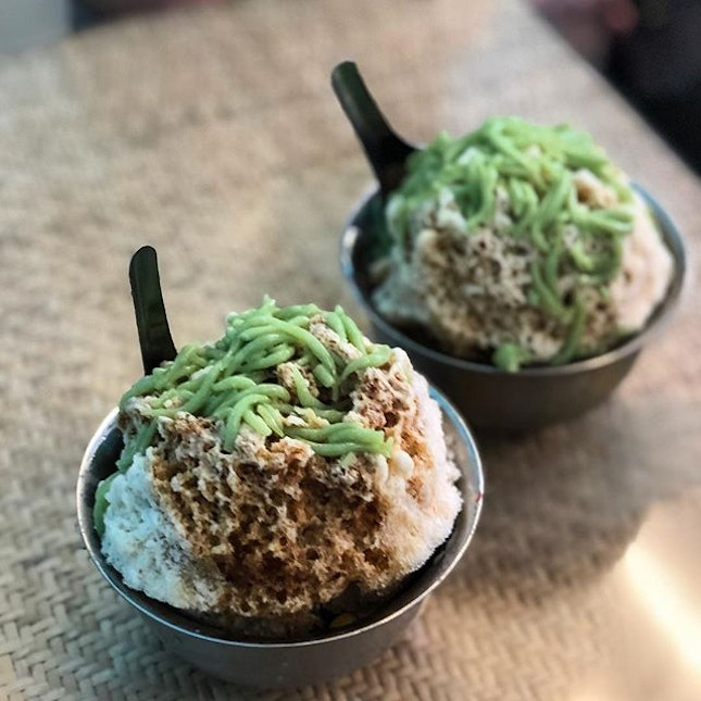 Nothing like a bowl of old fashioned chendol to combat the heat.