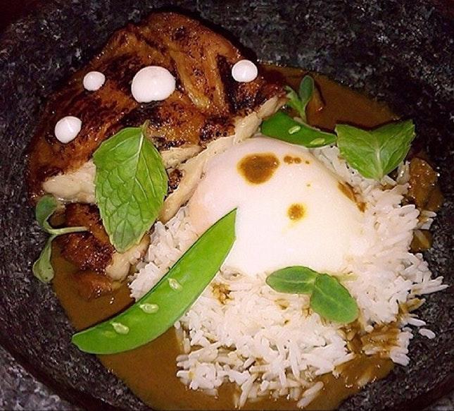 Chicken Curry  $20
