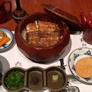うなぎひつまぶしランチセット Unagi Hitsumabushi Lunch Set