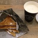 Taro Toast & Toffee Nut Vanilla Milk