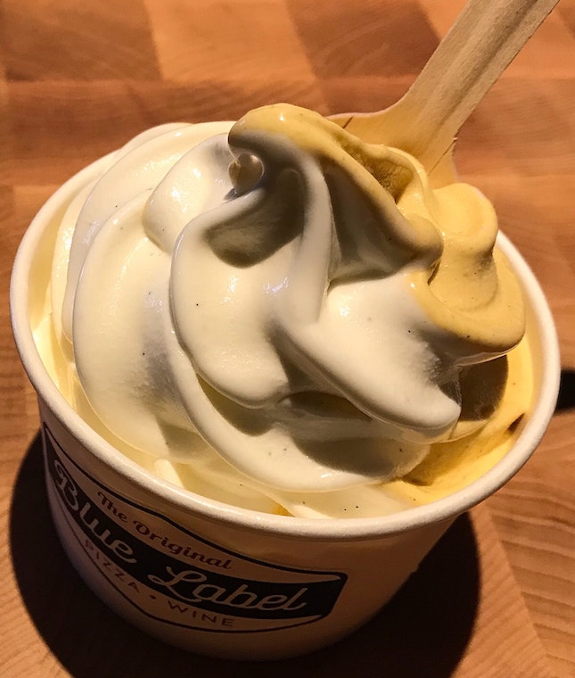 Blue Label Soft Serve Ice Cream  $8
