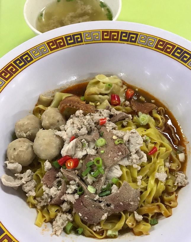 肉脞麵  $6