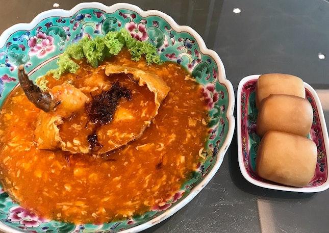 Chilli Crab and Mantou