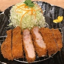 熟成宮崎產きなこ豚かつ定食  $32.80