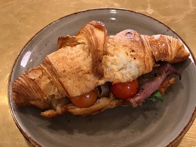 Roast Beef Croissant  $9