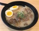 北海道牛肉ラーメン(白湯)  $15.90