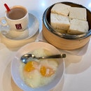 Steamed Kaya Butter Bread Set  $5