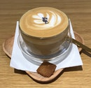 Lavender Latte with Coffee  $6.50