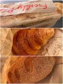 Baguette | Croissant | Stuffed Ham & Cheese Bread  $9.90