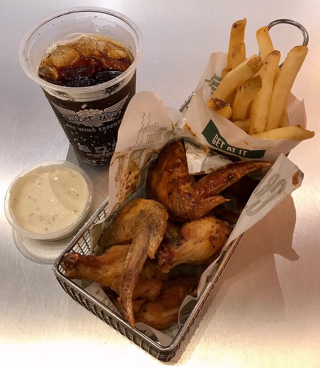 Classic Wings Combo  $11.95