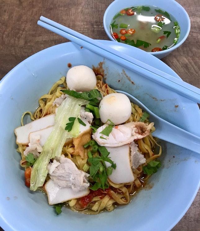 魚圓麵  $4