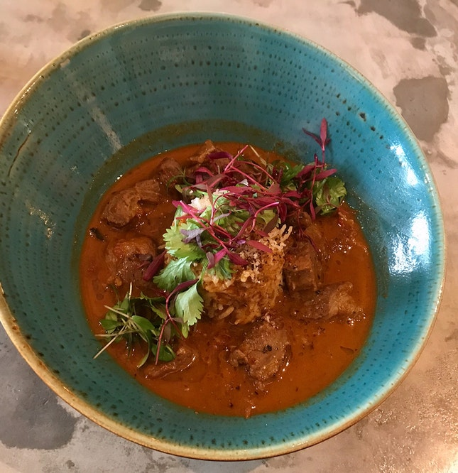 Caribbean Goat Curry  $28