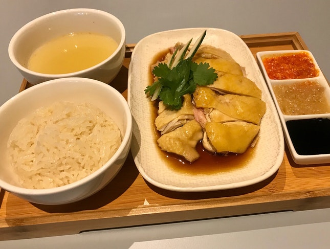 Hainanese Chicken Rice  $17
