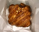 Nutty Salted Caramel Croissant  $4