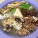 釀豆腐米粉湯  $8.40