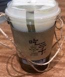 決明烏龍仙草奶蓋  $5.20