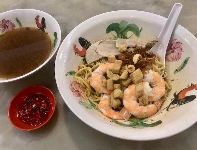 蝦麵  $6