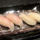 かんぱち寿司 & ひらめ寿司  $8.99 (x2)