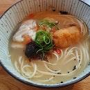 Fish Collagen Broth Udon  $14.80