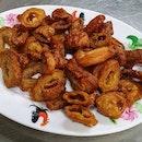 Fried Large Intestine  $8