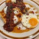 100% Sourdough Waffle  $23