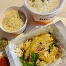 怡保芽菜雞 (半) | 油雞飯 | 怡保沙河粉湯  $27.54