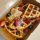 Salted Gula Melaka Waffles  $18