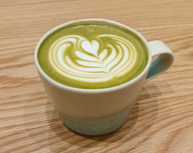Matcha Latte Espresso  $7.50