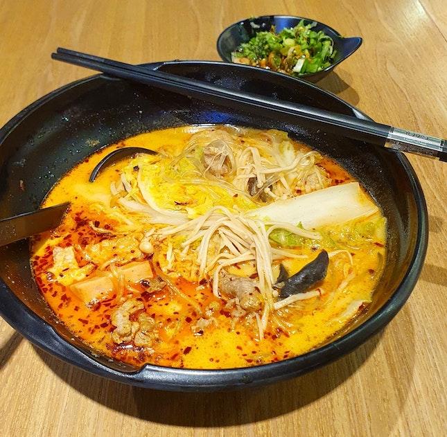 麻辣燙 (濃醇牛骨湯)  $13.60