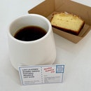 Filter Coffee $18 | Lemon Drizzle $5