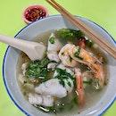 魚蝦湯  $12