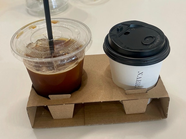 Iced Long Black $7   Filter Coffee $8