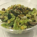 Healthy Avocado Mushroom Salad