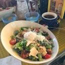 Grilled Chicken Caesar Salad ($12.50++)