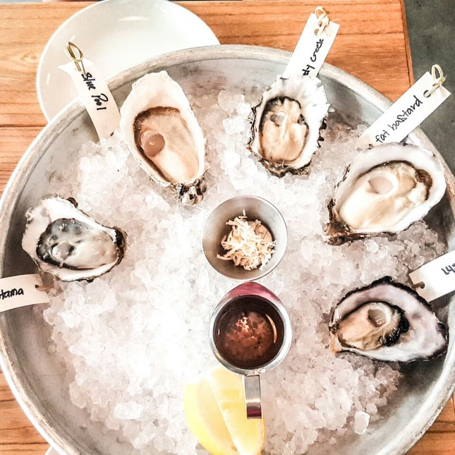 Oysters ($2 - $3 each for Sunday Brunch)