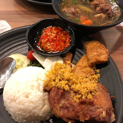 Bebek Goreng Pak Ndut Tampines 1 Burpple 6 Reviews Tampines Singapore