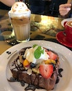 French Toast ($14) And Iced Early Grey Latte ($8)