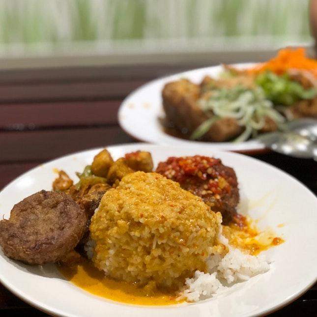 Spicy Indonesian Nasi Padang