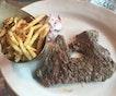 Italian Steak And Fries ($34)
