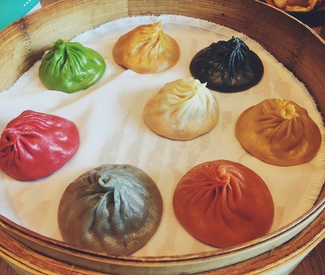 8 Colour Xiao Long Bao
