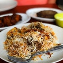 Mutton briyani (regular - $15)  Bismillah biryani is a Michelin bib gourmand establishment which sells biryani that ain't that bad for you.