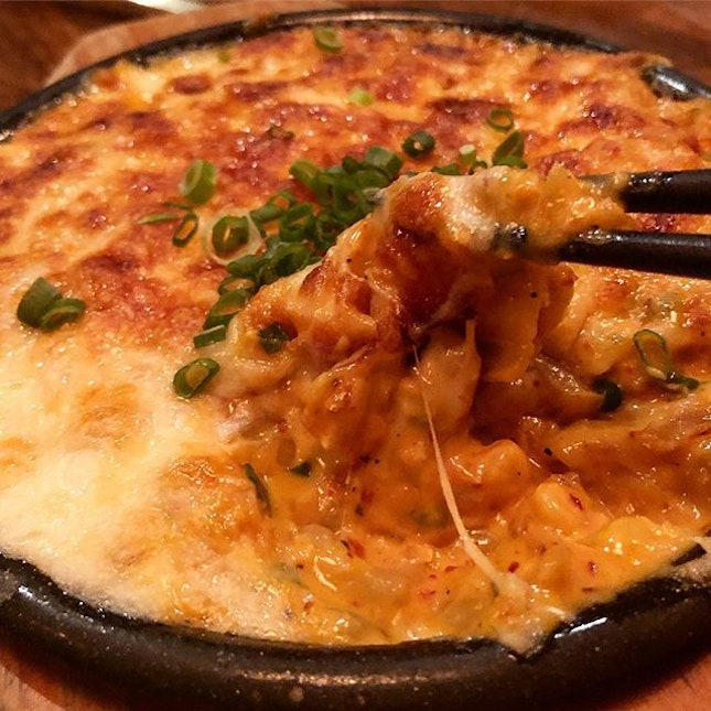 Kimchi Mac & cheese ($16)  Such an absolutely indulgent and delicious dish!