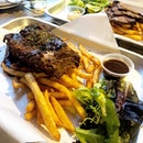 We ordered the BBQ baby back ribs ($32) and wagyu beef brisket ($32) using our Burpple beyond 1 for 1 deal.