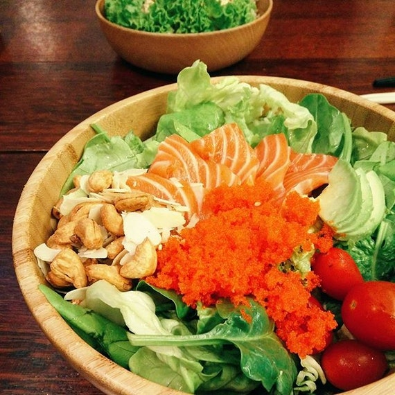 U know those 🐟 will be in good hands when they are opened by the same team behind Tanuki Raw & Standing Sushi Bar 💗  Love customise bowls!!